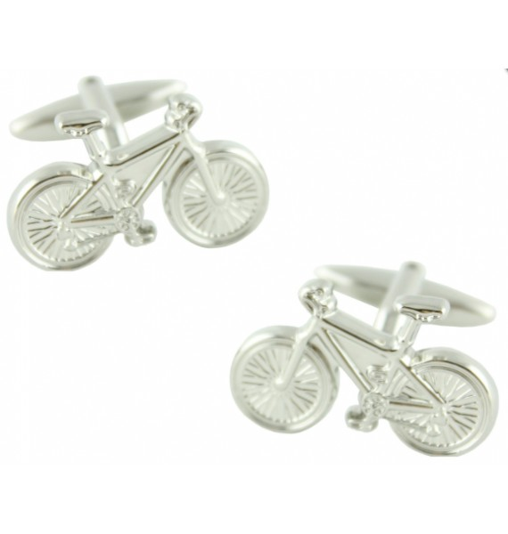 3D Bicycle Cufflinks