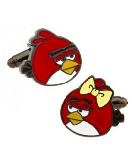 Angry Birds Love Cufflinks