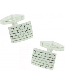 Sterling Silver Wall Cufflinks