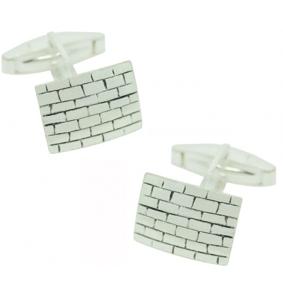 Sterling Silver Wall Cufflinks