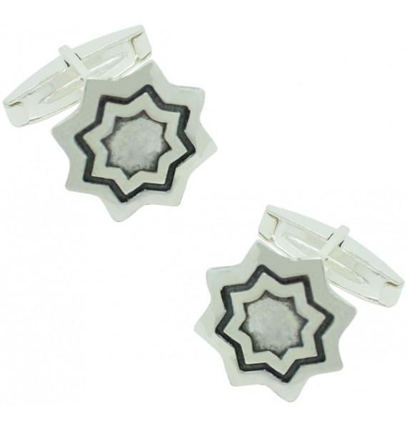Gemelos Estrella Plata 925