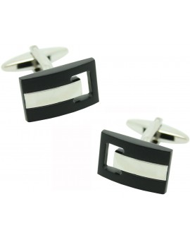 T Rectangle Cufflinks