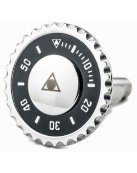 Gemelos Speedometer Official Negro para camisa