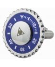 Blue Speedometer Official Cufflinks