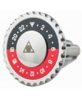 Black and Red for shirt Speedometer Official Cufflinks
