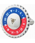 Red and Blue Speedometer Official Cufflinks