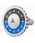 Blue and Black Speedometer Official Cufflinks