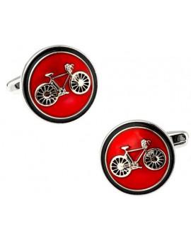 Gemelos Bicicleta Classic Red