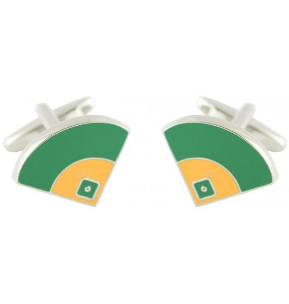 Baseball Field Cufflinks