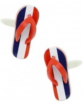 French Flip Flop Cufflinks