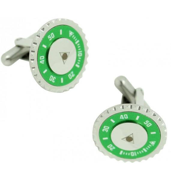 Gemelos speedometer verde para camisa