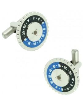 Gemelos Speedometer Official Azul y Negro