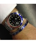 Blue and Red Speedometer Official Bracelet