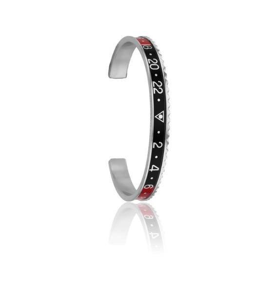 Red and Black Speedometer Official Bracelet