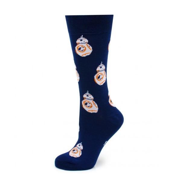 Blue BB-8 Star Wars Socks