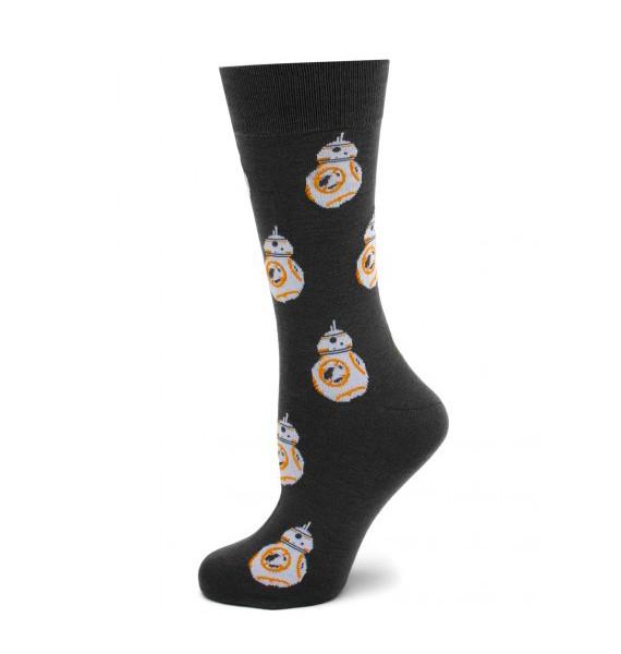 Grey BB-8 Star Wars Socks