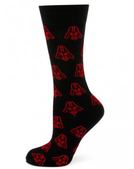 Black and Red Darth Vader Star Wars Socks