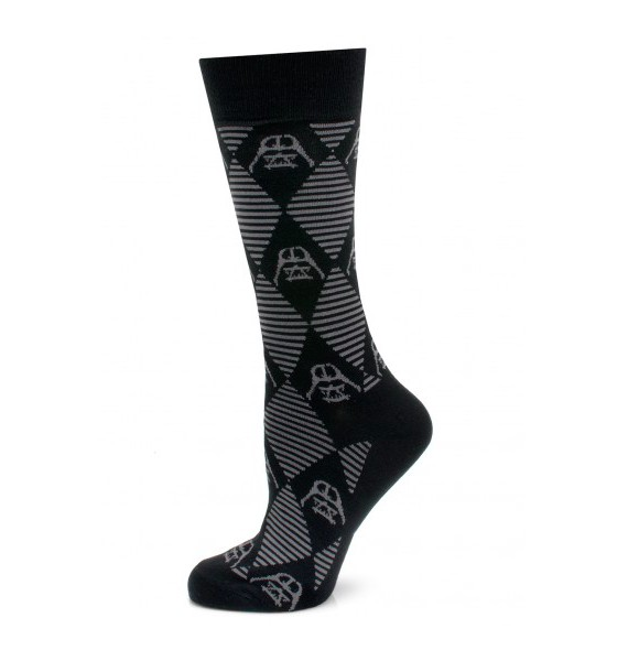 Striped Darth Vader Star Wars Socks