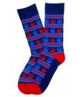 Striped Imperial Star Wars Socks