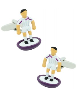 Real Madrid Subbuteo Player Cufflinks