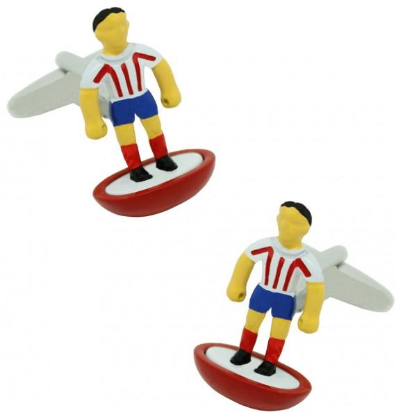 Atlético Madrid Subbuteo Player Cufflinks