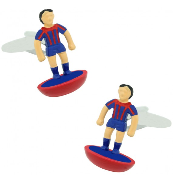 Barcelona Subbuteo Player Cufflinks