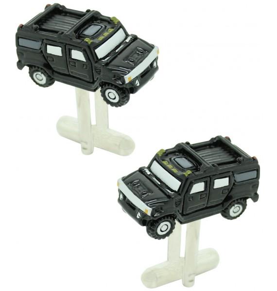 Black Hummer Cufflinks