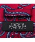 Rebel Navy and Pink Skinny Tie