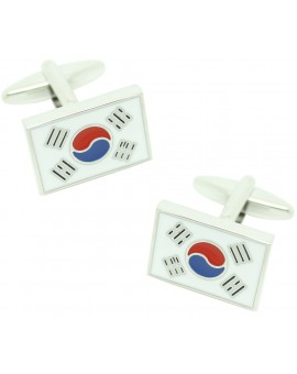 Flag of South Corea Cufflinks