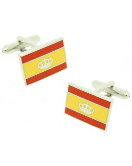Spain Navigation Flag Cufflinks