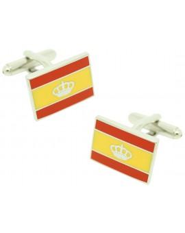 Spain Navigation Flag Cufflinks