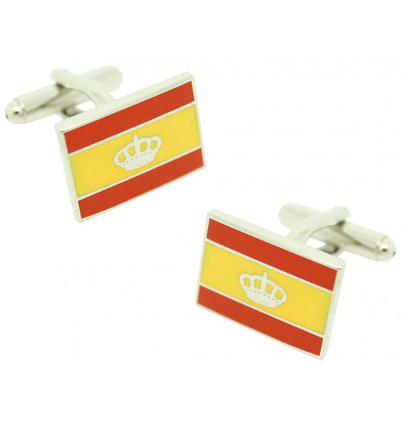 Gemelos para camisa Bandera Naútica España