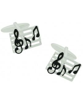 Musical Score Cufflinks