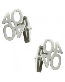 Gemelos 40 aniversario Plata 925