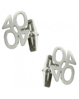 Sterling Silver 40 Cufflinks