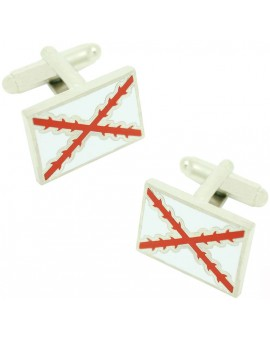 Cross of Burgundy Flag Cufflinks