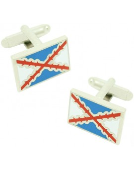 Tercio of Naples Flag Cufflinks