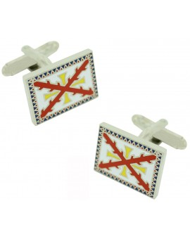 Tercio of Alburquerque Flag Cufflinks
