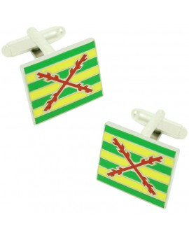 Tercio of Lepanto Flag Cufflinks