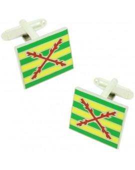Tercio of Lepanto Flag Cufflinks