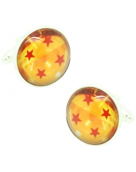 4 Star Dragon Ball Cufflinks