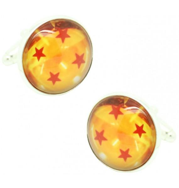 4 Star Dragon Ball Cufflinks