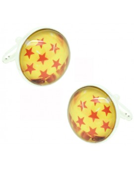 7 Star Dragon Ball Cufflinks