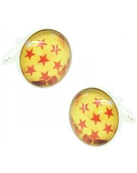 Gemelos para camisa Dragon Ball 7 Estrellas