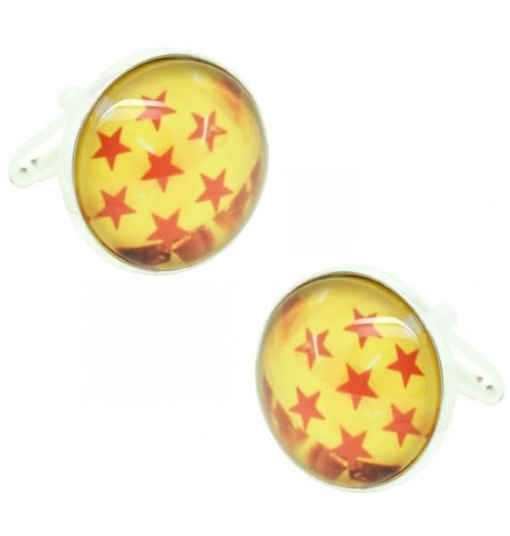 7 Star Dragon Ball Cufflinks