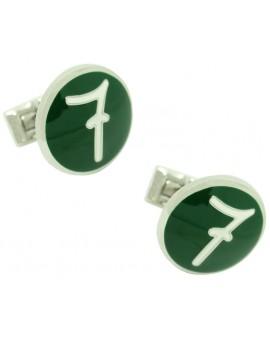 7 Design Lino Ieluzzi Skultuna Cufflinks - Green