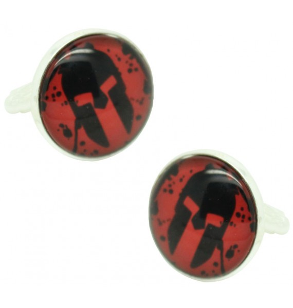 The Spartan Race Cufflinks