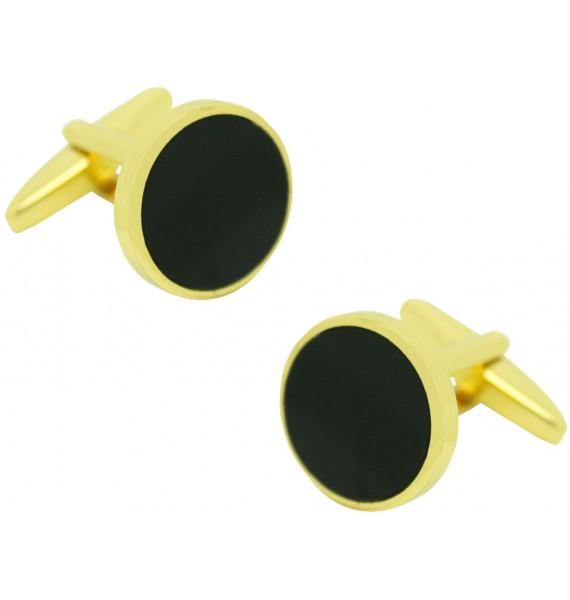 Black Obsidian Cufflinks