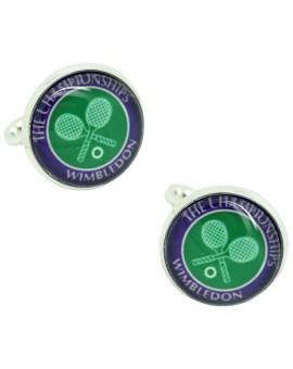 Gemelos para camisa tenis Wimbledon