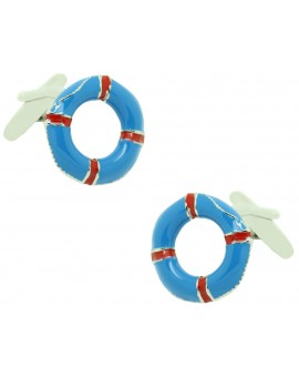 Blue Lifebelt Cufflinks